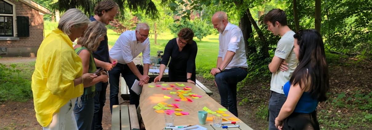 Brainstorm campus als buitenlokaal
